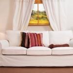 divano classico tessuto