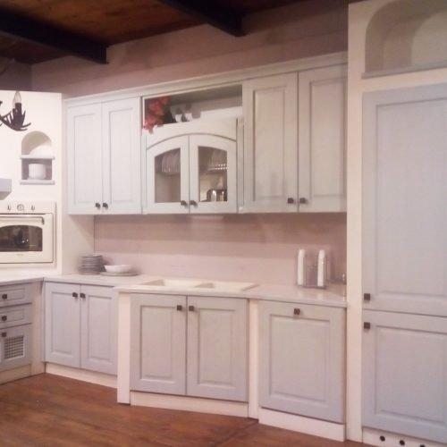Cucina Lube Nilde Glicine Bianco - Vissani Casa