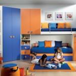Cameretta Doppia Soppalco e Cabina Puzzle 079