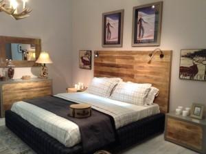 letto mountain design