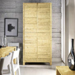 Armadio Legno Massello Natural 01