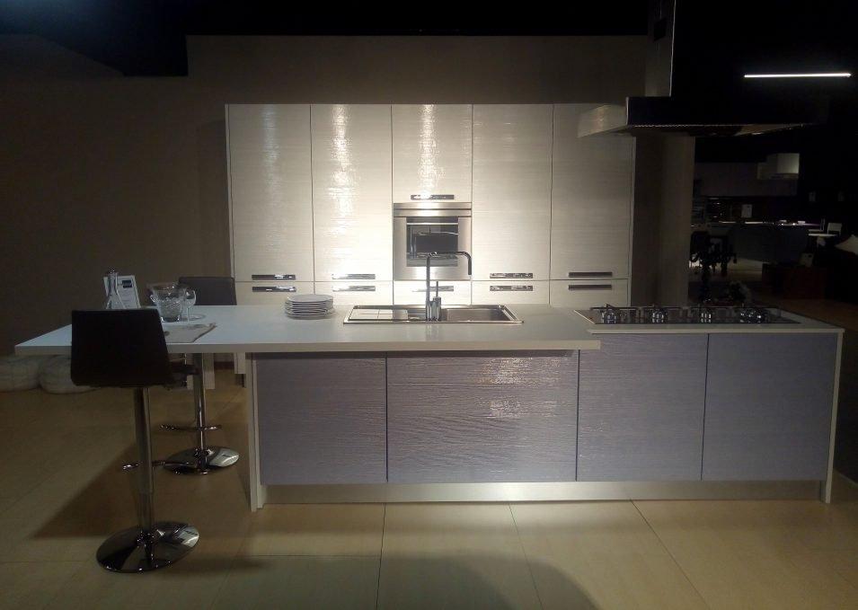 Cucina Lube Nilde Glicine Bianco