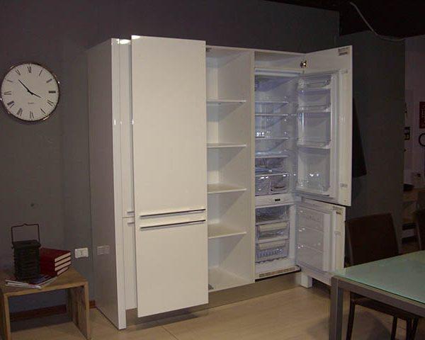 Dispensa Cucina In Ciliegio: Cucina bianca usata roma mobili e ...