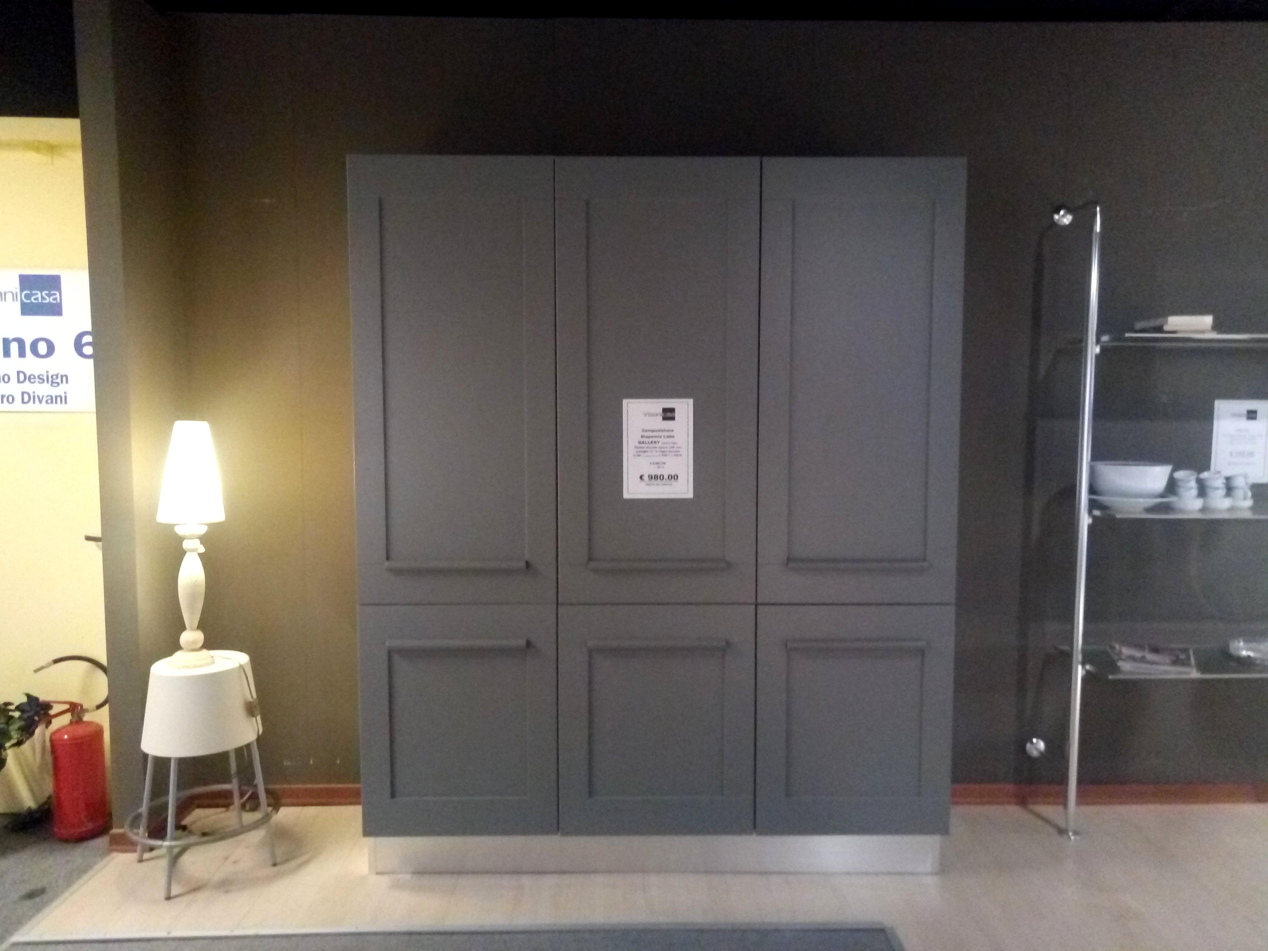 Dispensa Lube Gallery Titanio Opaco