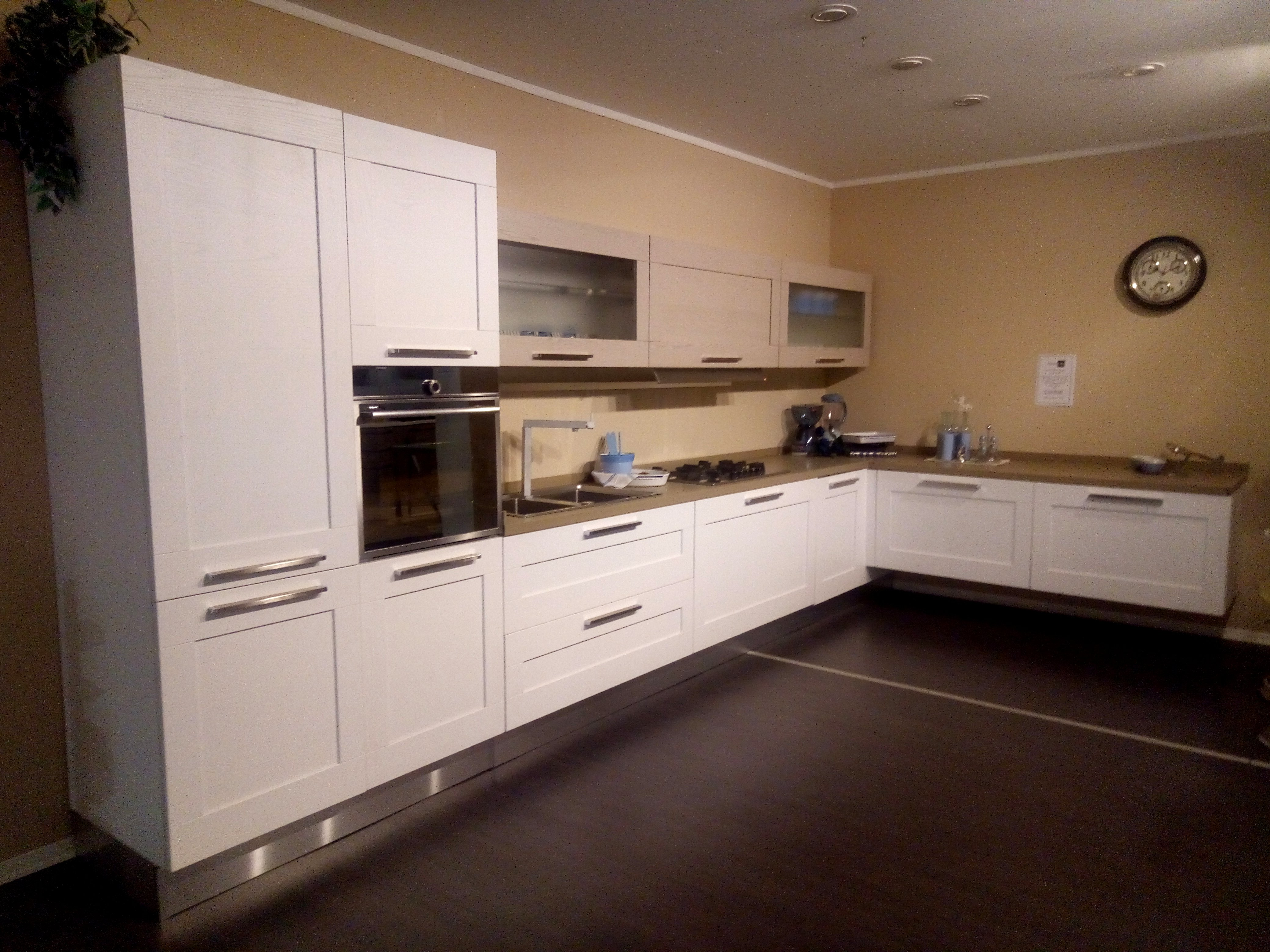 Cucina Lube Gallery Bianco Corda - Vissani Casa