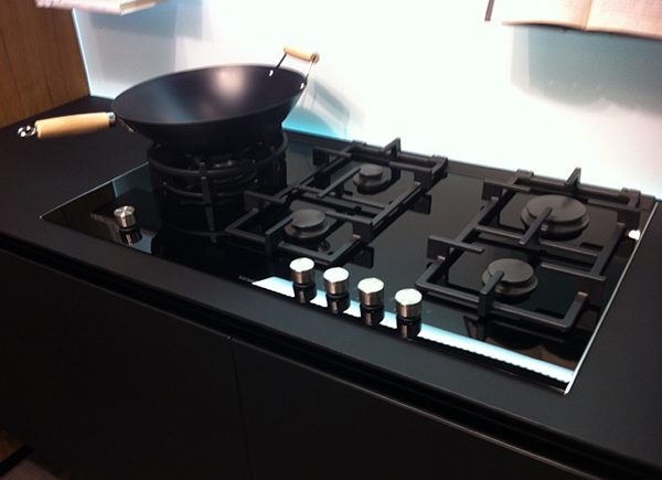 Cucina Lube Oltre Nera Rovere - VissaniCasaVissaniCasa