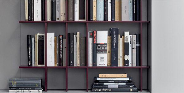 libreria slim novamobili  vissanicasavissanicasa, Disegni interni