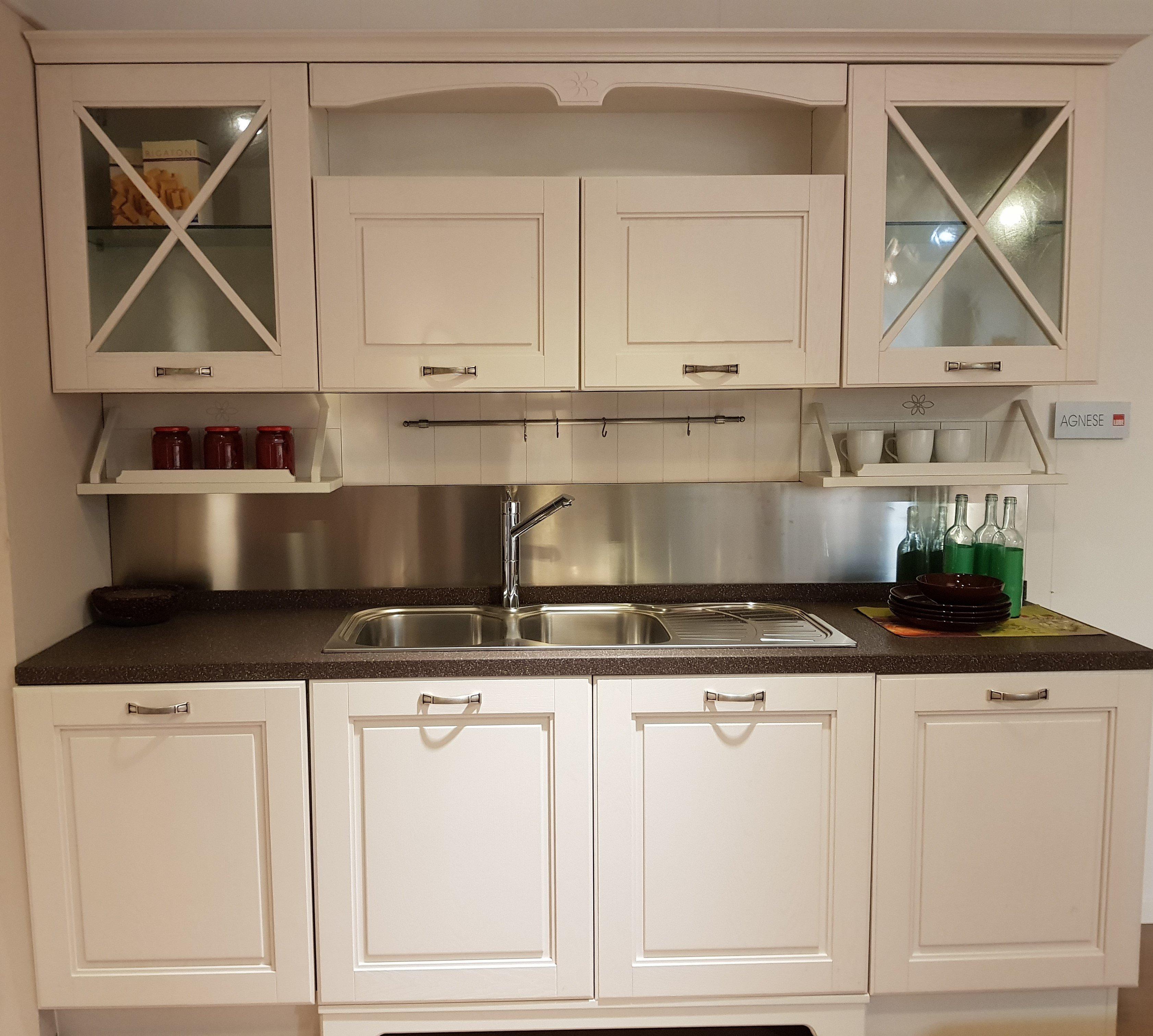 Cucina lube agnese bianco camelia vissani casa - Cucina lube agnese ...
