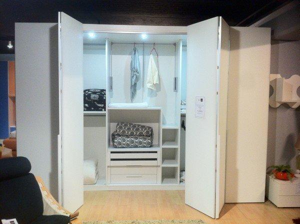 Cabine Armadio Outlet : Cabina armadio bianca vetro vissani casa