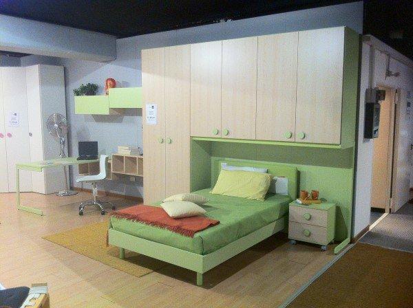 Cameretta Lilla E Verde : Cameretta singola a ponte acero e verde vissani casa