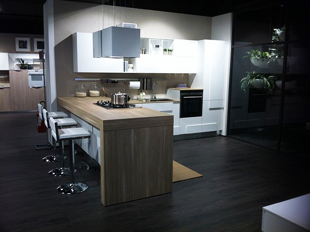 Cucina Lube Creativa Bianca - Vissani Casa