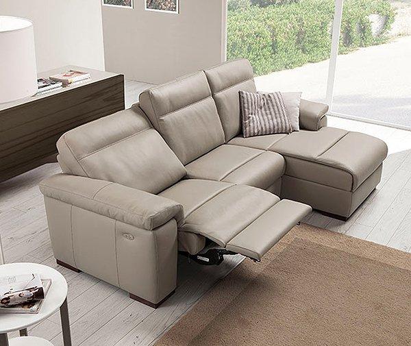 Divano loryan vissani casa for Divano reclinabile 2 posti