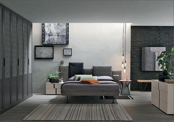 Letto Skyline Tomasella - Vissani Casa