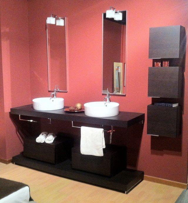 mobile bagno wenge 2 vasche vissani casa