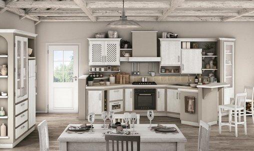 Cucina rebecca borgo antico vissani casa - Cucine finta muratura lube ...