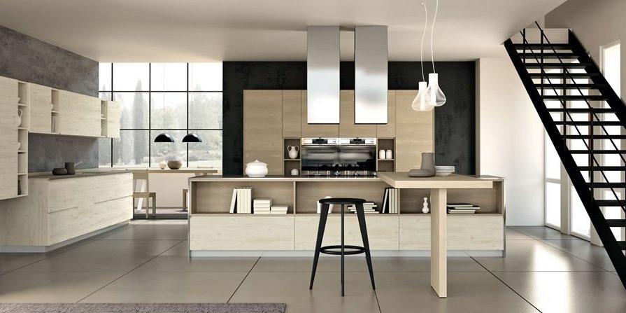 Cucina Legno Massello Natural 03 - Vissani Casa