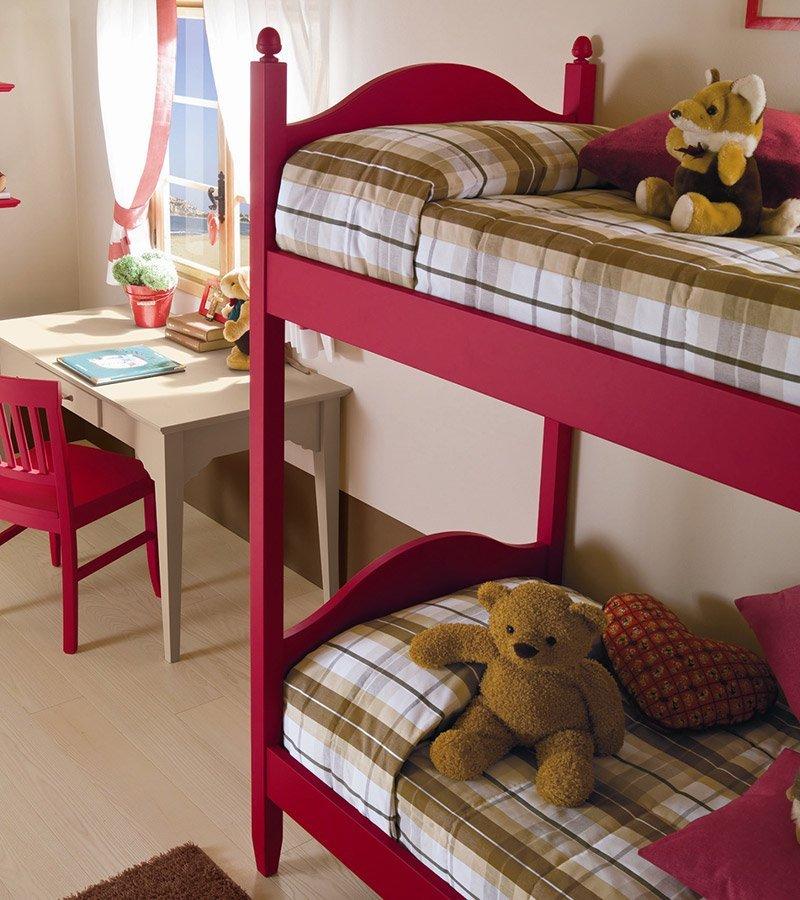 Cameretta con letto a castello vissani casa - Cameretta letto a castello ...