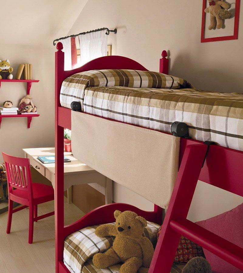 Cameretta con letto a castello vissani casa - Cameretta letto castello ...