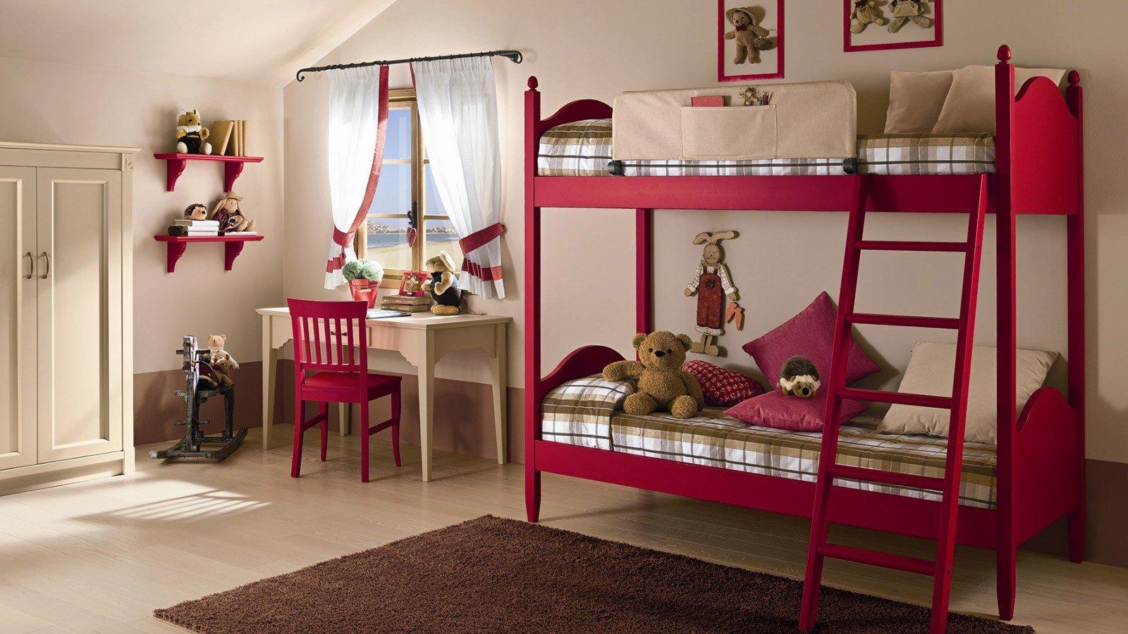 Cameretta con letto a castello vissani casa - Cameretta con letto a castello ...