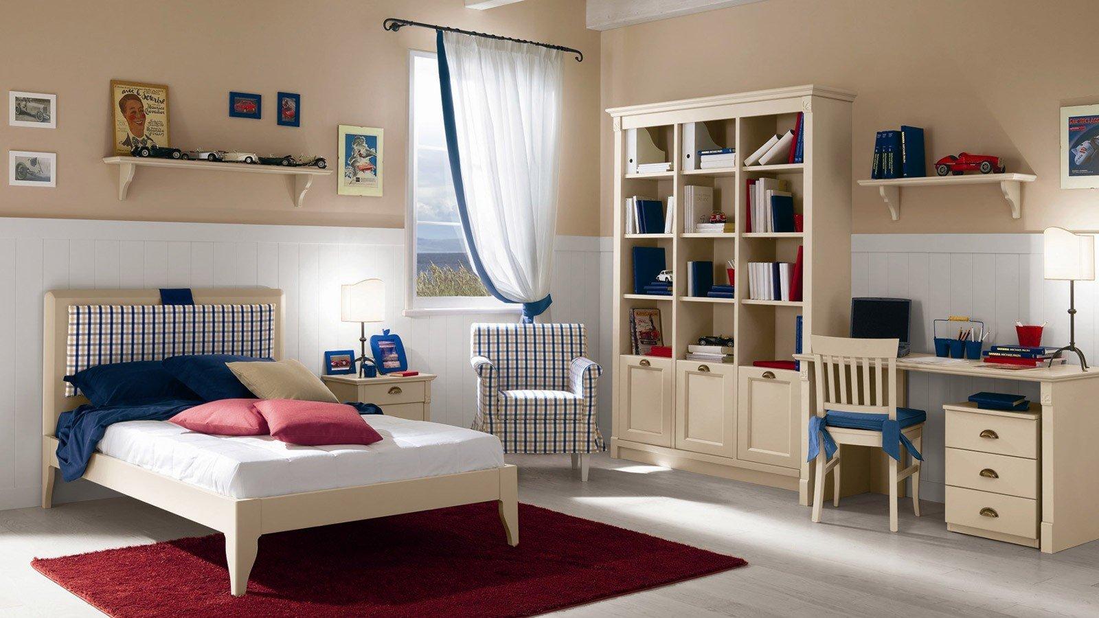 Stunning Camerette Classiche Per Ragazzi Pictures - Home ...