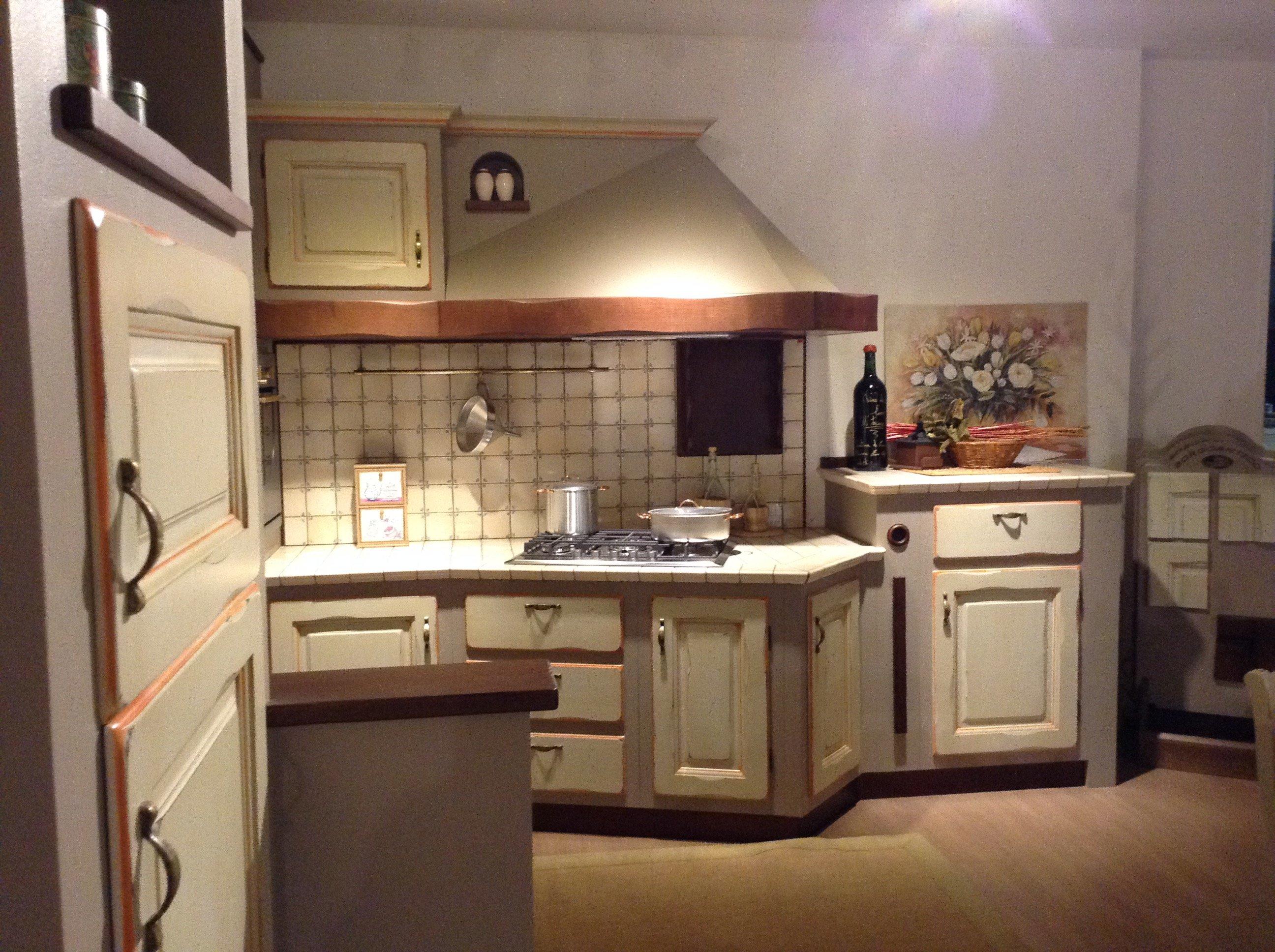 Cucina in muratura Borgo Antico - Vissani Casa